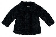 Jas Fake Fur Navy
