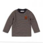 T-Shirt Stripe Navy Melee