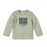 T-Shirt Travel Faded Mint