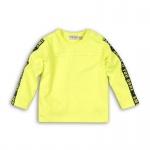 T-Shirt Smile Neon Yellow