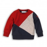 Trui Red Grey Navy