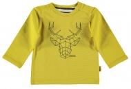 T-Shirt Deer Ocre