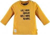 T-Shirt Last Name Mustard