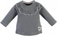 T-Shirt Stripe Black Navy