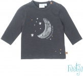 T-Shirt Moon Antraciet