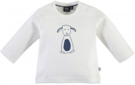 T-Shirt Lamb Blue Creme