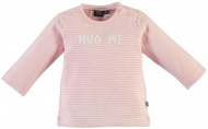 T-Shirt Stripe Rose Pink