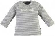 T-Shirt Stripe Light Grey