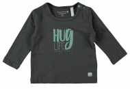 T-Shirt Hug Life Grey