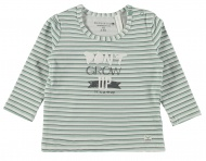T-Shirt Stripe Soft Green