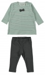 2-Delige Set Stripe Green