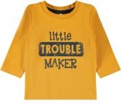 T-Shirt Nilus Golden Orange