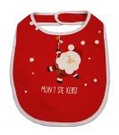 Kerstslabber Baby Rood