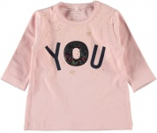 T-Shirt Rose Silver Pink
