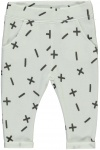 Broek Xess White Grey Text