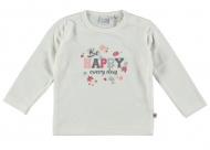 T-Shirt Happy Offwhite