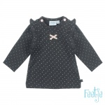 T-Shirt Dots Antraciet