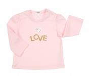 T-Shirt Aeromax Love Oldrose