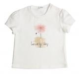 T-Shirt Aeromax Flamingo Offwhite