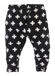 Broek Mundo Black Crosses