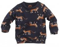 T-Shirt Uranus Navy Leopard