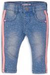 Jeans Spots Pink Stripe