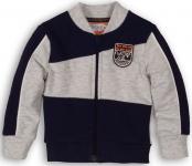 Vest Grey Melee Navy
