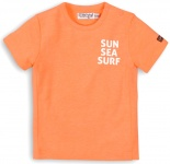 T-Shirt Korte Mouw Sun Sea Surf Orange