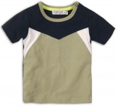 T-Shirt Korte Mouw Navy Green