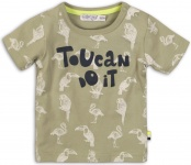 T-Shirt Korte Mouw Toucan Army Green