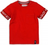 T-Shirt Korte Mouw Ready Red