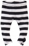 Legging Milan Black White Stripe