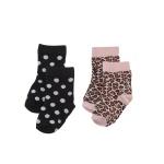 Sokjes Athens Soft Pink / Black