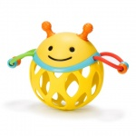 Skip Hop Roll Around Rattle Bee