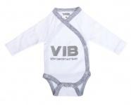VIB Romper VIB Wit/grijs