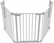 Noma 3 Panel Gate Wit (197.5 cm)