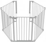 Noma 5 Panel Gate Wit