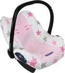 Dooky Seat Cover 0+ Pink Stars