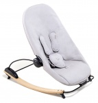 Bloom Coco Go Lounger Naturel / Frost Grey Organic