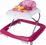 Qute Loopstoel Q-Limo Pink Butterfly