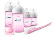 Philips Avent Starterset Natural 2.0 Pink Voor Pasgeborenen - SCD301/03