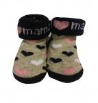 BD Collection Sokjes I Love Mama Hearts