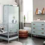 Coming kids Ledikant 60-120 / Commode 3 laden Bliss Seagreen