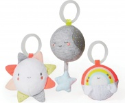 Skip Hop Silver Lining Cloud Ball Trio