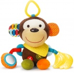 Skip Hop Bandana Buddies Puppet Activity Toy Monkey