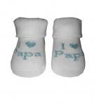 BD Collection Sokjes I Love Papa Mint