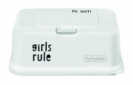 Funkybox Wit Met Zwart Girls Rule