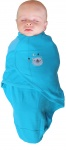 Bo Jungle Baby Wrap Blue Bear Small
