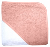 BD Collection Babycape Wit / Blush