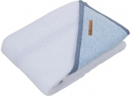 Little Dutch Badcape Blue Melange 75 x 75 cm